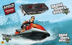 GTA 5 -  AMD HD 6730M PERFORMANCE TEST Grand Theft Auto, Gta 5, Movie Posters, Film Poster, Billboard, Film Posters