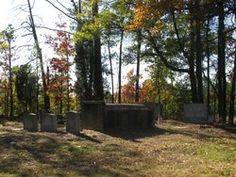Rich Family Cemetery  Wake County  North Carolina  USA