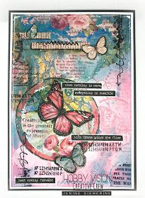 Journal Covers, Art Journal Pages, Art Journals, Mixed Media Cards, Mixed Media Journal, Gesso Art, Scrapbook Paper, Scrapbooking, Art Journal Tutorial