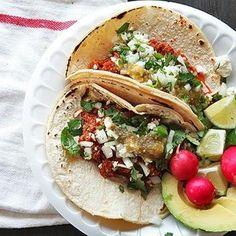 Easy Mexican Chorizo Tacos Recipe - Serious Eats & ZipList