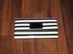 New Item just added to by EBay Store!   Kate Spade - Sandra Wellesley Patent Stripe Wallet - BRAND NEW WITH TAGS