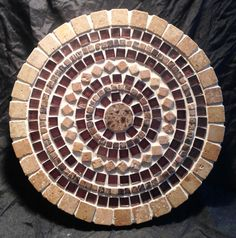 Banded Mea Lazy Susan by TXStoneworks on Etsy