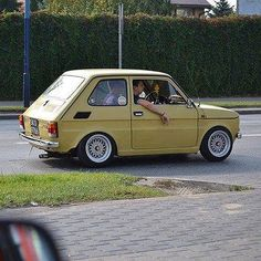Fiat 126, Cafe Bike, Small Cars, Italian Style, Custom Cars, Cars And Motorcycles, Vintage Cars, Panda, Automobile