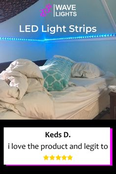 Keds D. loves their new addition of LED strip lights. It sure makes the room look cozy and inviting. Click here to order. Led Light Strips, Led Strip, Happy Lights, Alexa Echo, App Control, Cutting Tables, A Whole New World, Get The Party Started, Gaming Setup