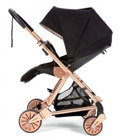 Signature Edition Black/Rose Gold Urbo² Stroller