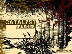 Cool Grunge Brush Set Catalyst Scrag. This grunge brush set is hand drawn. Maybe this grunge brush set will work well as textures. Or just start layering these grunge brush files.  #abyss #Black #cataclysmic #drawn #gnar #gnarly #grunge #hand #kill #Sketchy Check more at http://psdfinder.com/free-psd/grunge-brush-set-catalyst-scrag