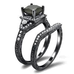 Black gold ring..