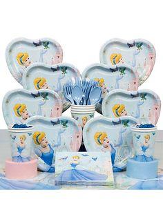 Cinderella Party Deluxe kit -Cinderella Party Supplies  #DisneyPrincessWMT. Hannah's 1st birthday?