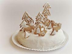 mikodesign: Winterwonderland cake