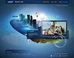 Samsung Pitch by Phil Rampulla, via Behance