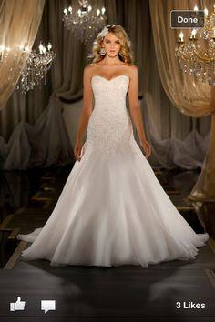 I love this wedding dress!