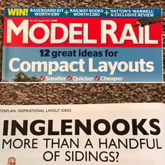 The Inglenook style layout concept and design is featured in the August edition of Model Rail Magazine