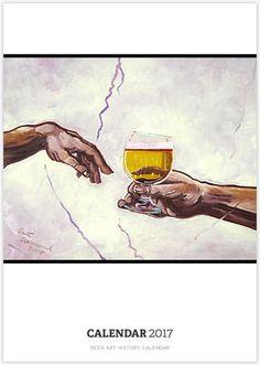 Beer Art History Calendar