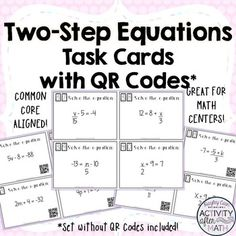 FREE Similar Polygons Task Cards with QR Codes Activity