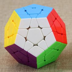 Shengshous 3 Three Layers Megaminx Magic Cube Toy For Kids 3x5x12 Cubo Megico 3*5*12 Sides Boys Birthday Gift Non-Ironing Tool Organizers