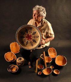 Daisy Dementieff masters the art of weaving baskets. | Life | ADN.com