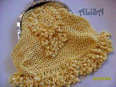 Irish crochet &: Сумочки Алисы