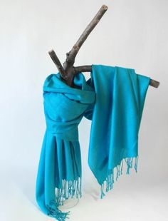 The Scarf Shop Solid colors 100% Pashmina Scarf Shawl Wrap Stole in 20 Beautiful Colors for women