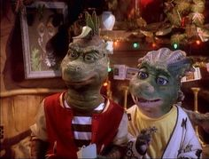 Dinosaurs TV Show | TV_dinosaurs_charlene_and_robbie_angry.jpg  (708 × 539 pixels ...
