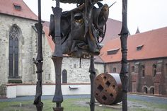 Sochařská zahrada Anežského kláštera