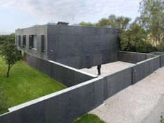 If Its Hip, Its Here: The Safe House In Poland Is A Modern Fortress With Sliding Walls.