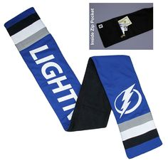 New! Tampa Bay Lightning Jersey Scarf #TampaBayLightning