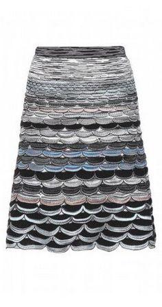 Missoni Crochet-knit Skirt