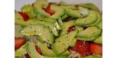 Receta Ensalada de cangrejo, fresas y aguacate