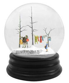 Travelers: Snow Globes by Walter Martin and Paloma Munoz