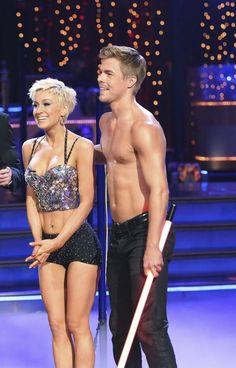 Kellie and Derek get good news from the judges