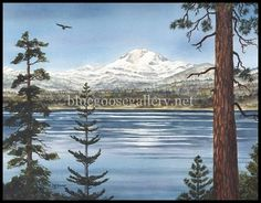 Blue Goose, Blue Goose Gallery of Artists Chester, CA Deb Groesser