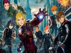 Avengers and winx