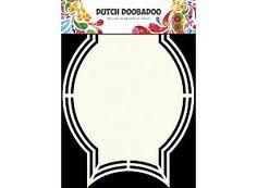 Dutch Doobadoo Holländische Kunst-Form-A5-Medaille