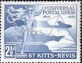 Stamps St Kitts - Nevis stamps 1949 Universal Postal Union Set Fine Used Sell Stamps, Stamp Catalogue, Roman Numerals, Commonwealth, Stamp Collecting, St Kitts And Nevis, Postage Stamps, Hong Kong, British