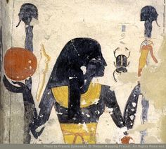 The longest day means the shortest night, and that made me think of Egyptian Goddess Nut. She is the sky, the protector of Ra the sun god.