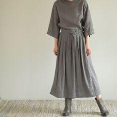 Aki Skirt: Acier