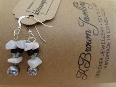 A personal favourite from my Etsy shop https://www.etsy.com/uk/listing/130580663/gemstone-howlite-earrings-howlite