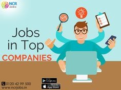 If you are looking for #JobsInTopCompanies which best suites your profile, then don't worry. This job portal provides time-to-time information of latest jobs which will definitely help you to get a reputed job.  See more @ http://bit.ly/2sWjHzx #NCRJobs #JobSite #TopCompanies