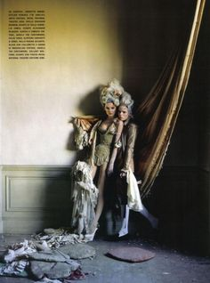 Stella Tennant, Imogen Morris Clarke by Tim Walker for Vogue Italy March 2010, Lady Grey 14