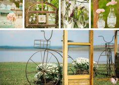A decoração do casamento no campo é simplificada, já que o ambiente conta com a beleza da natureza. E você pode abusar do DIY (Do it yourself – faça você mesmo).
