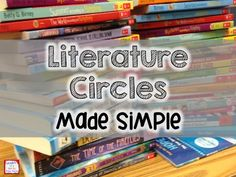 Literature Circles Made Simple- a blog post with lots of suggestions for organizing, running and assessing using literature circles.
