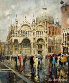 Зонтики на Сан-Марко Галимов Азат
