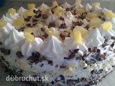 Veľkonočná trasená torta s ananásom