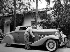 Clark Gable -- Duesenberg SJ
