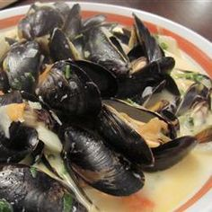 "Steamed Mussels with Fennel, Tomatoes, Ouzo, and Cream | ""Delicious! First time making mussels. Turned out great. Followed the recipe exactly. Thanks!"" -Beth"