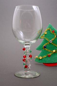 Wine glasses I made:)