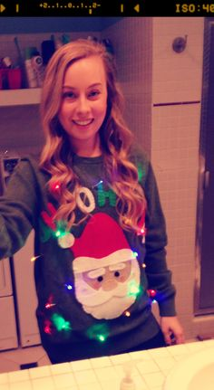 DIY Christmas sweater...it's never to early...