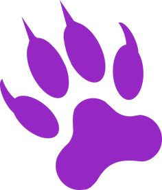 Black Panther Paw Print Tattoo Clipart - Free Clip Art Images