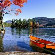 """Lake George, NY What a beautiful place this would be during fall or spring. I've always wanted to go to Lake George and stay at one of the great """"ole"""" resorts I've read about over the years. Lake George Ny, Lake George Village, Summer Vacation Spots, Adirondack Mountains, Seen, Lake Life, The Great Outdoors, Kayaking, Canoeing"""