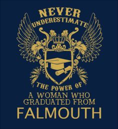 A WOMAN WHO GRADUATED FROM FALMOUTH - Fabrily (Falmouth alumni ... love one of these!)